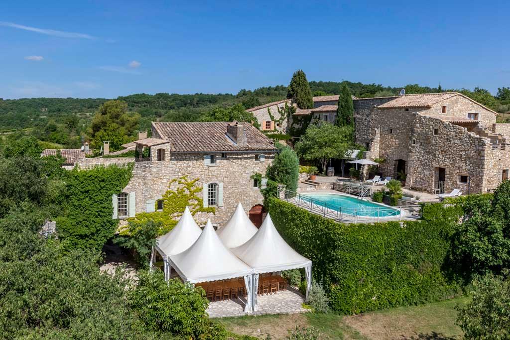 Grand Gite Avec Piscine Gorges De L'Ardèche Aiguèze Gard
